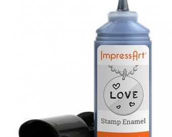 Impressart Stamp Enamel-Use to color in your letters after stamping-New Item!
