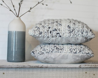 Watercolor Spring  Stuffed Pillow