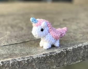 Amigurumi Unicorn - Mini Crochet Unicorn - Unicorn Plush - Kawaii Amigurumi - Unicorn Amigurumi - Crochet Amigurumi - Unicorn Keychain