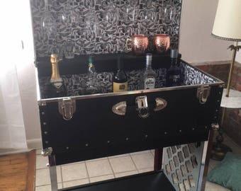 Vintage Mid-Century Bar Cart