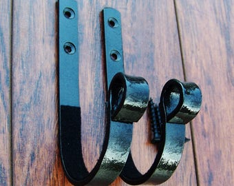 Wood And Copper Wall Mount Hanger Unique Wall Decor