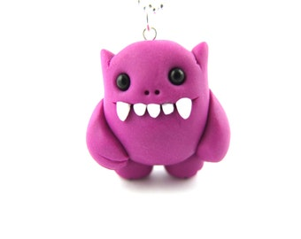 monster charm necklace