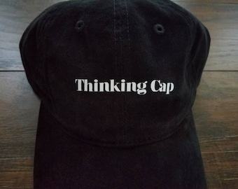 Thinking Cap Dad Hat