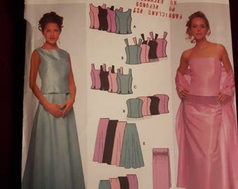Simplicity 9466, Evening Gown Sewing Pattern