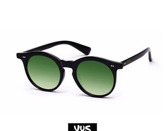 Customizable Black sunglasses/Sunglasses-Text engraving-lens various colors Made in Italy-Customize with YUS