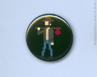 "Vagabond 1"" Pin-Back Button"
