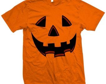 Orange Pumpkin Halloween Costume T-shirt