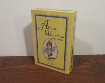 Alice in Wonderland Deck and Book Set