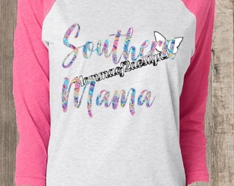 Raglan shirts , Custom shirts ,southern , southern shirt , southern mama shirt , country shirt , country girl shirt , gift for her ,