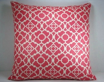 Waverly Lovely Lattice Pillow Designer Accent Pillow 18X18
