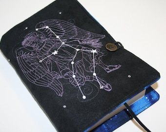 Virgo  Embroidered Book Cover