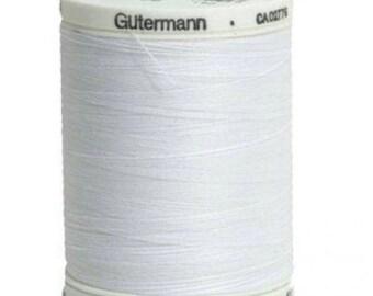 Gutermann Sew-All Thread - 1000m/1094 yd Spool - White (color 020)