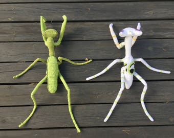 Praying Mantis Amigurumi