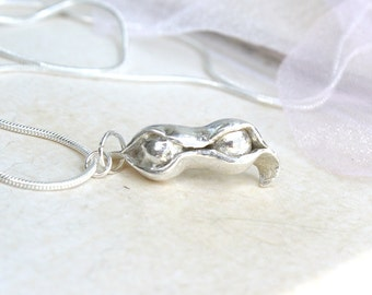 Valentines Sentimental Jewelry, Two Peas In A Pod Necklace, Baby, Mother, Personalized Two Peas In A Pod Pendant, For Her