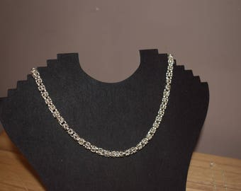 Byzantine chainmaille necklace