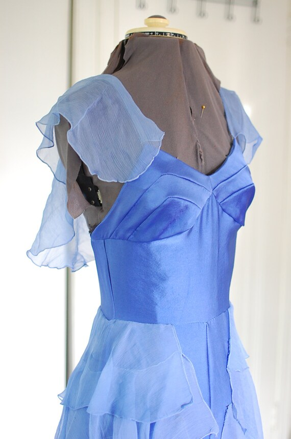 Hermione Granger Yule Ball Dress Blue Book Style Gown Replica