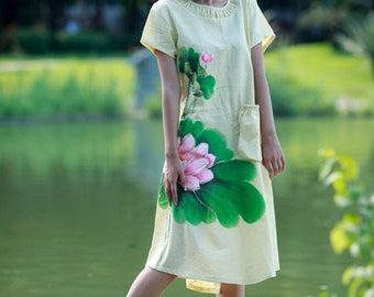 womens maxi dresses short sleeve summer dresses womens plus size dresses hand painted dresses summer dress maxi dress womens plus size dress
