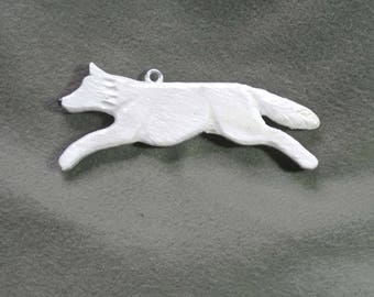 White Wolf Home Decor Hanger-Handmade, Recycled, Hand Painted