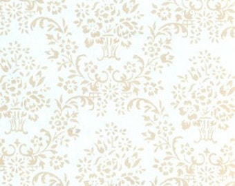 Very Rare 1 Yard Annette Tatum House Collection Wallpaper Color Ice