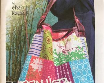Paradiso Designs by Cheryl Kuczek, Urbanista Hobo Bag Pattern, Travel Bag, Tote