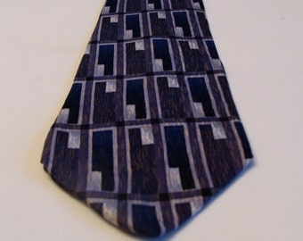 Jimmy V mens silk tie,  Mark McGuire collection tie, designer silk tie, Jimmy V tie, Jimmy V McGuire collection tie