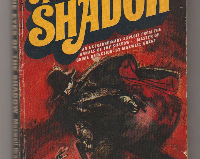 1969 The Shadow: Eyes of the Shadow Paperback Book. Maxwell Grant (Walter B. Gibson). VG/FN. Bantam Books