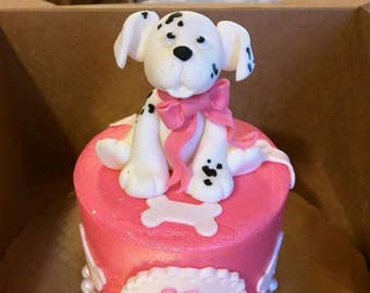 Puppy Dog Cake Toppers (set of 4)