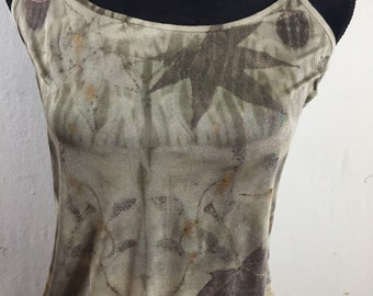 Eco Silk Dyed Camisole