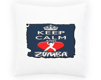 Keep Calm And Love Zombies Pillow Cushion Cover aa152p
