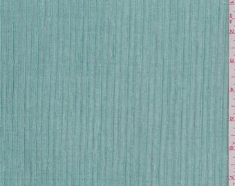 Aqua Green Pleated Mesh, Fabric By The Yard