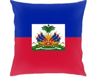 Haiti pillow cover Haiti flag