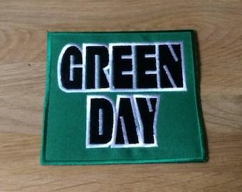 GREENDAY Logo Patch | jacket patch | Jeans Patches | Green Day | diy patch | pop punk alternative rock