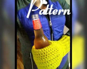 PATTERN Beer Buddy Can Bottle Mitten