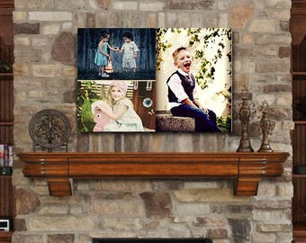 "16"" x 20"" Photo Prints on Natural Birch Wood"