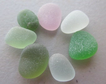 Sea Beach Glass GENUINE - Sea Glass Lot Pieces - Jewelry Making Supply