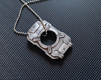Metal Cortana Chip From Halo