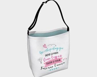 """Handbag """"Orthopegogue"""" Unicorn illustration"""