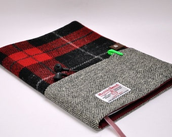 HARRIS TWEED A4 notebook cover - Bespoke Collection