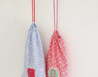 Pretty Drawstring Bags Sewing Pattern 803080