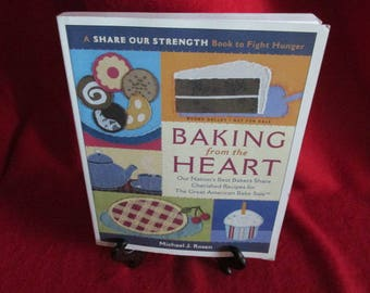 "Galley Copy of ""Baking from the Heart""  by Michael Rosen"