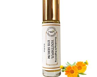Organic Eye Serum, Eye Serum for Dark Circles & Puffiness, Anti-aging Eye Serum, Brightening Eye Serum