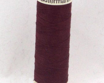 Sew Polyester Burgundy n 369 Gutermann thread