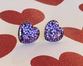 The Cutie Pie - Purple Passion Heart