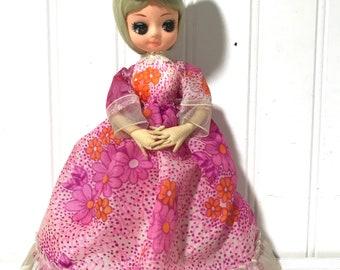 Vintage 1960's Big Eyed Pose Doll