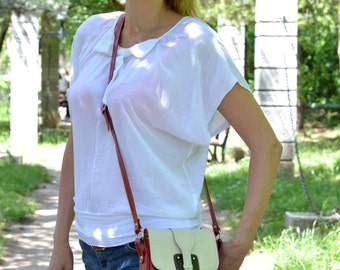 SMALL LEATHER BAG, Small Crossbody Bag, Small Leather Purse, Small Leather Pouch, Handmade Leather Bag