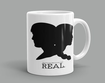 Katniss and Peeta Inspired Mug