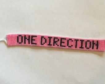 ONE DIRECTION Beadwoven Bracelet