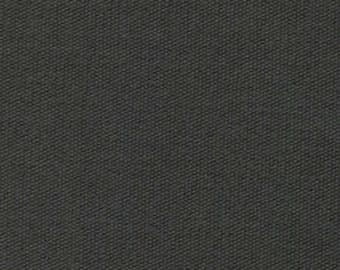 8.5 oz Brushed Canvas Solid Fabric - Graphite - Sold by the 1/2 Yard