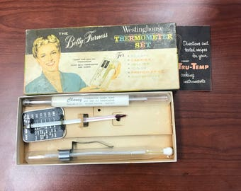 Betty Furness Westinghouse Thermometer Set - Shipping included