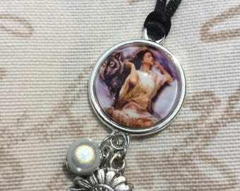 """Indian and White Pearl"" cabochon set"